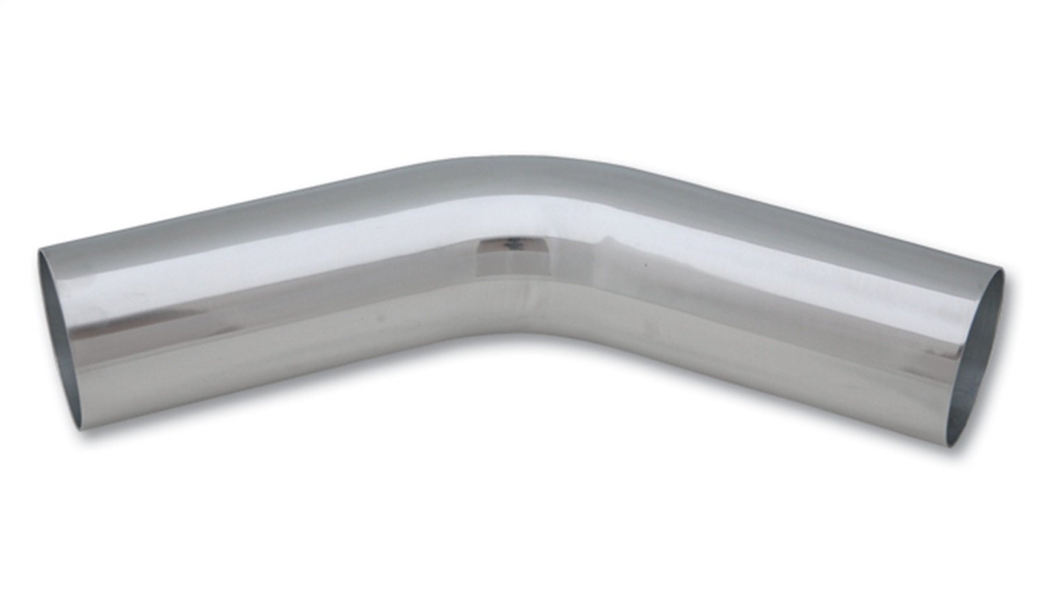 Vibrant 2890 Polished Aluminum 45 Degree Bend VIB2890