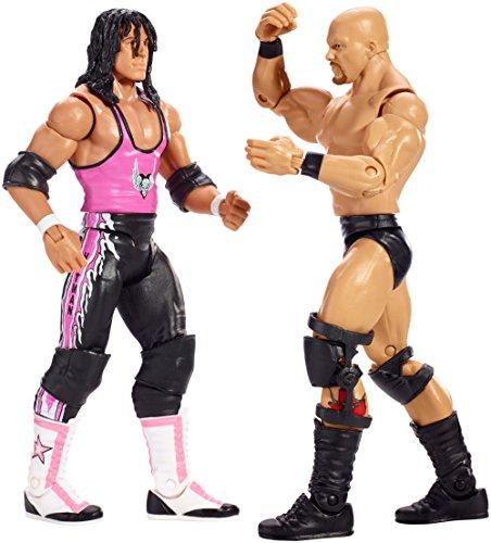 WWE Wrestlemania Steve Austin and Bret Figure 2-Pack