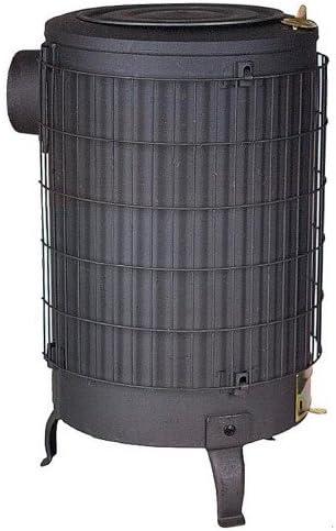 /Num/éro 3/avec grill Chauffage de tube 100/mm Noir THECA N /° 3/