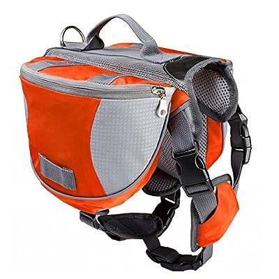 Lifeunion Saddle Bag Backpack for Dog, Tripper Hound Bag Travel Hiking Caming