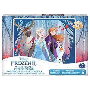 Cardinal Games Frozen Ii Puzzle In Legno Da 48 Pezzi Dai 4 Anni In Su Multicolore 6053102