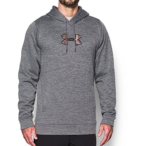 Under Armour Men's Storm Icon Caliber Hoodie, Graphite (040), Large