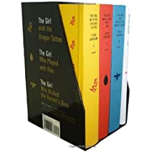 (Stieg Larsson's Millennium Trilogy Deluxe Boxed Set))Stieg Larsson's Millennium Trilogy Deluxe Boxed Set:The Girl with the Dragon Tattoo, the Girl Who Played with Fire, the Girl Who Kicked the Hornet's[Hardcover]