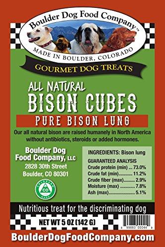 UPC 899883000449 - Boulder Dog Food Company Bison Cubes 5 Oz