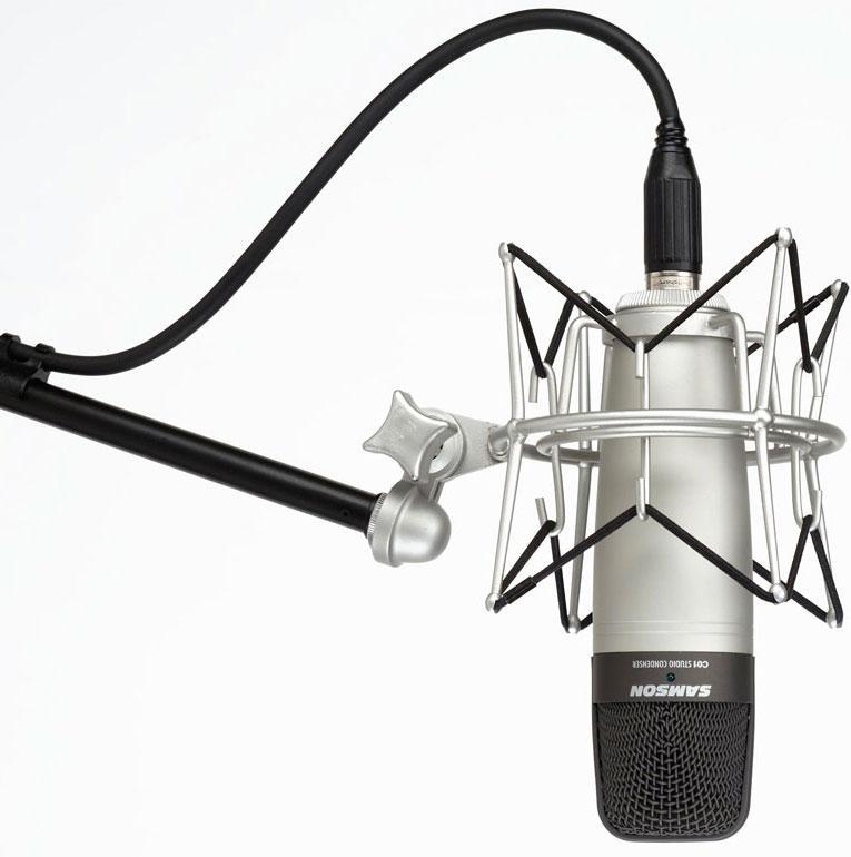 samson c01 large diaphragm hyper cardioid condenser microphone samson audio