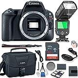 Canon EOS Rebel SL2 Body Only DSLR Camera Kit + 32 GB Memory Card + Canon Camera Bag + TTL Speed Light Auto Flash + Starter Kit