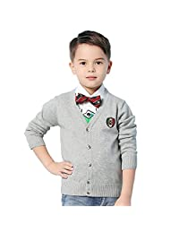 MMX Boy Kids Cotton Cardigans Knit Sweaters