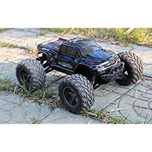 FMTStore 1/12 Scale Electric RC Car Offroad 2.4Ghz 2WD High Speed 33+MPH Remote Controlled Car Truck (Color: Assorted) - 51U9QXp1jwL - FMTStore 1/12 Scale Electric RC Car Offroad 2.4Ghz 2WD High Speed 33+MPH Remote Controlled Car Truck (Color: Assorted)
