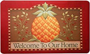 Mohawk Home Pineapple Home  Printed  Rug, 1'6x2'6, Multi
