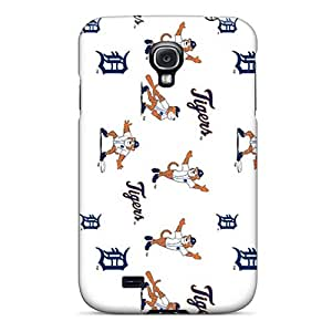 Bumper Hard Phone Cases For Samsung Galaxy S4 With Custom Lifelike Detroit Tigers Series SherriFakhry
