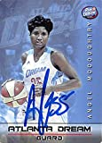 Angel McCoughtry autographed Basketball Card (Atlanta Dream, WNBA) 2015 Boost Mobile Live It!