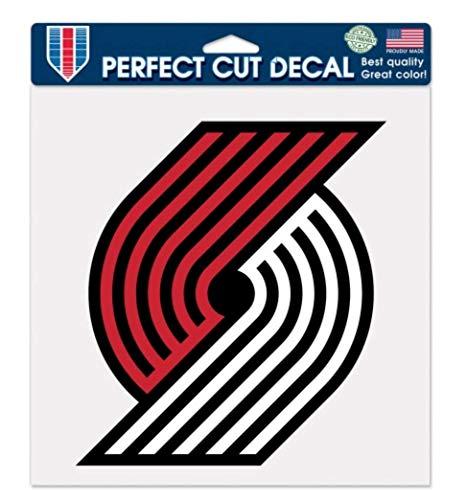 WinCraft NBA Portland Trail Blazers 8 x 8 inch Color Decal
