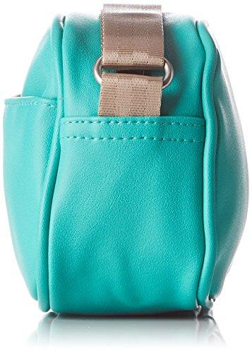 Bensimon Round Bag - Bolso bandolera Mujer Turquesa (Turquoise)