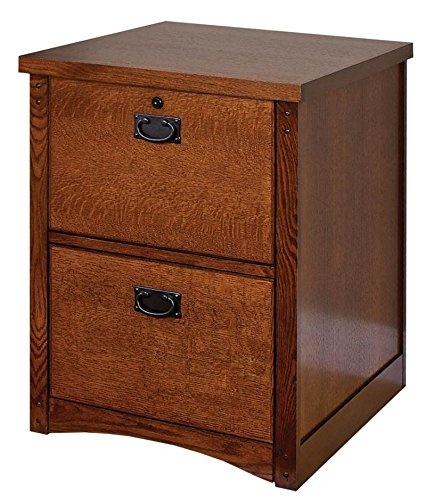 kathy ireland HOME by MARTIN Mission Pasadena 2-Drawer (Mission Lateral File)