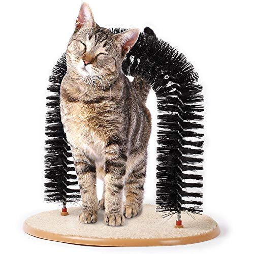 Cat Self Grooming Arch Purrfect Arch Cat Massage Toy for All Cats De Fur