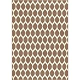 Mainstays Sheridan Ogee Rug Available In Multiple Colors (Caf 5′ x 7′) For Sale