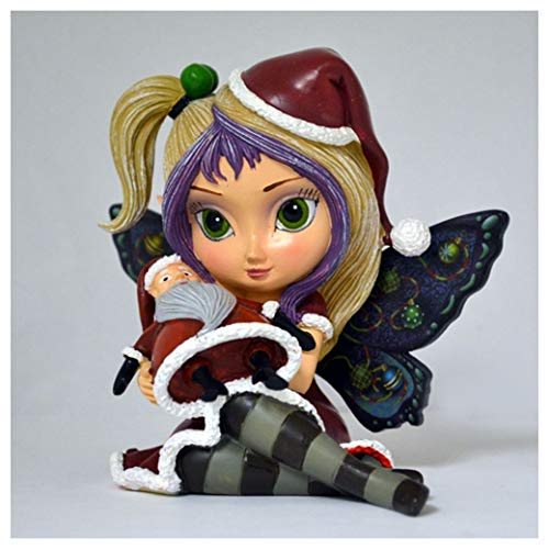 Bradford Tim Burton Nightmare Before Christmas Figurine by Jasmine Becket Griffith: Sandy Claws by The Hamilton Collection ...