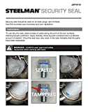Steelman 1-Ounce Security Seal, Pack of 10, Bright