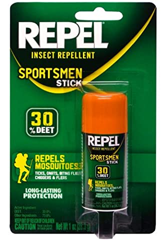 Repel Sportsman Insect Repellent Stick, 1-Ounce (Mosquito Repellent Deet)