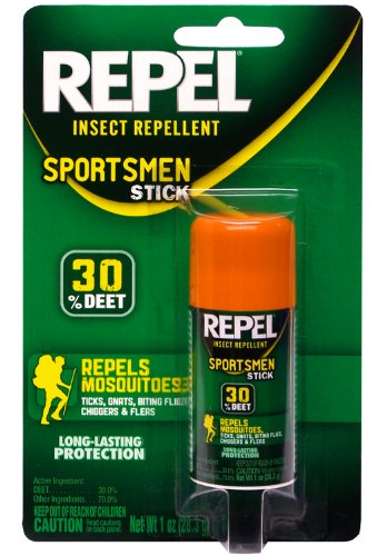 Repel Sportsman Insect Repellent Stick, 1-Ounce (Jungle Formula)