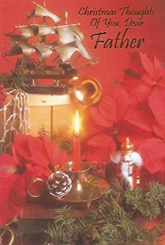 Christmas Thoughts.Amazon Com Christmas Thoughts Of You Dear Father C15