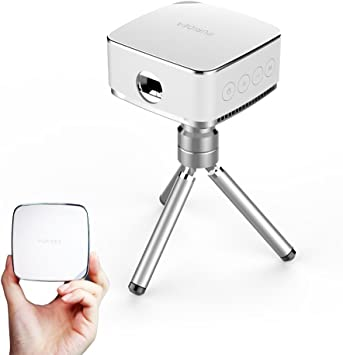 Amazon.com: Puridea Portable Wireless Proyector, 50 lúmenes ...