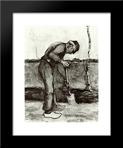 Digger 20x24 Framed Art Print by Vincent van Gogh