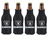 NFL Oakland Raiders Glitter Bottle Suit Koosie (Pack of 4)