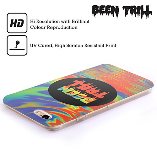 Official Been Trill Blue Tie Dye Soft Gel Case for Apple iPhone 4 / 4S