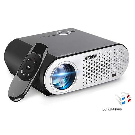 Amazon.com : HM2 Mini Projector Android WiFi Video Projector ...