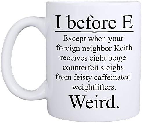 MyCozyCups Before Weird Mug Literature product image