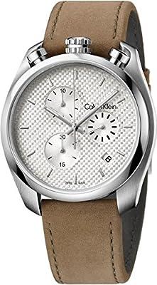Calvin Klein Continual K6Z371G6 Brown Leather Men's Watch