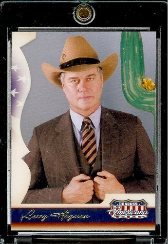 2007 Donruss Americana Retail # 40 Larry Hagman - Actor - Entertainment Trading - Americana Card Donruss 2007