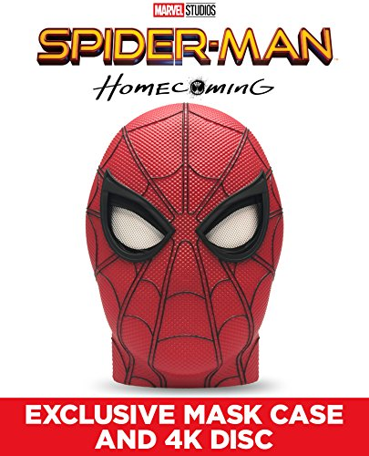 Spider Man  Homecoming Exclusive Mask   4K Uhd  Blu Ray