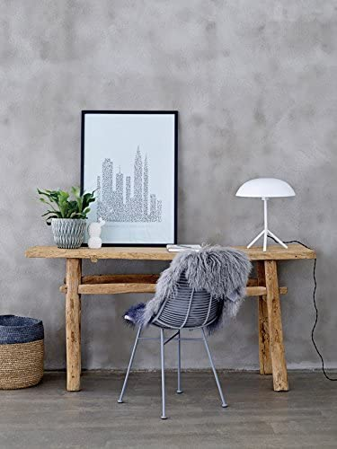 Cheap Bloomingville Navy Grey Tibetan Lamb Fur Rug living room rug for sale
