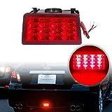 PGONE F1 - Luces traseras para Subaru WRX STI XV Impreza o VX Crosstrek, con arnés de cable y soporte de montaje, rojo (Red Lens)