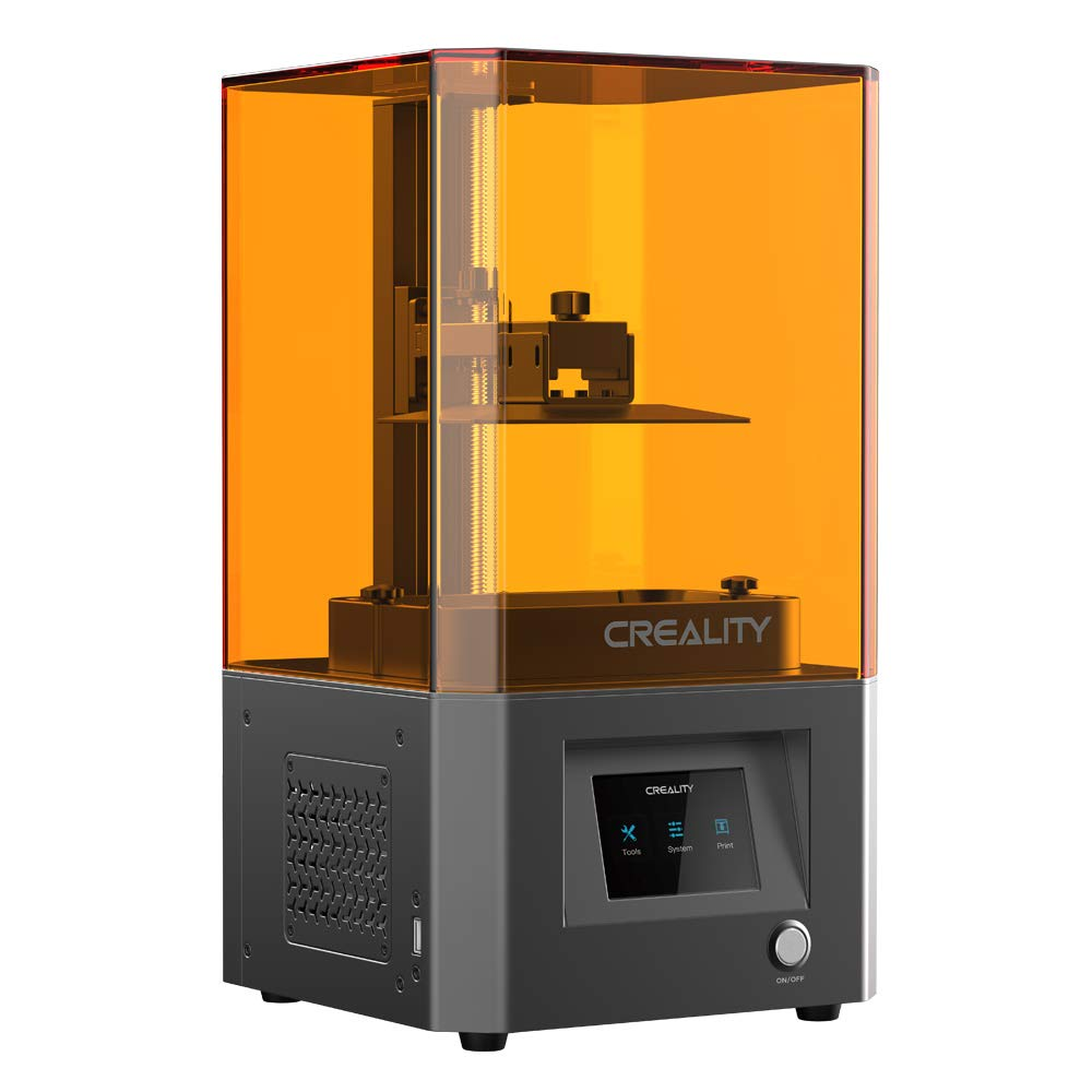 """Creality LD002R UV Photocuring LCD 3D Printer with Air Filtering System and 3.5'' Smart Touch Color Screen Off-line Print 4.69""""(L) x 2.56""""(W) x 6.29""""(H) Printing Size"""