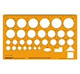 Accidents Prevention Plan Drafting And Design Template Stencil Symbols Technical Drawing Scale