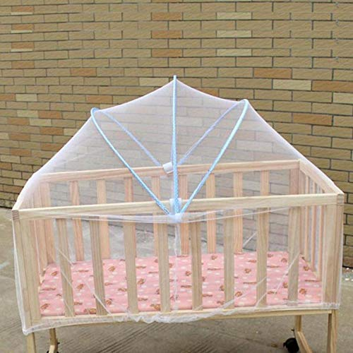 Mosquito Net - Baby Bed Mosquito Net Mesh Dome Curtain Foldable Toddler Crib Cot Canopy Netting Suitable Summer - Magnet Outdoor Ultralight Holder Extra Stroller Infant Popup Garage Used Jacket