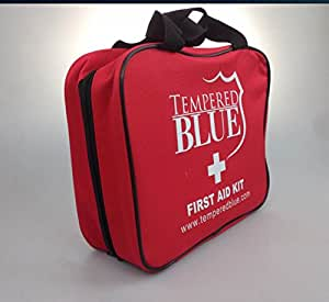 Amazon.com : Tempered Blue First Aid Kit with Nylon Bag
