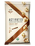 Living Intentions Activated Superfood Popcorn, Gluten Free, Vegan, Organic, Cinnamon Twist, 4 Ounce