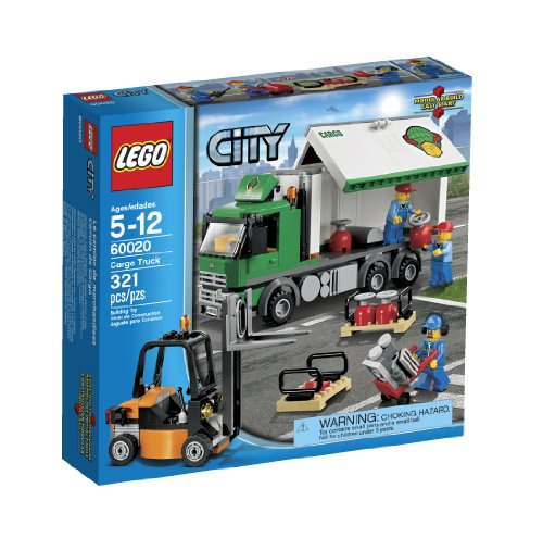 - LEGO City 60020 Cargo Truck Toy Building Set