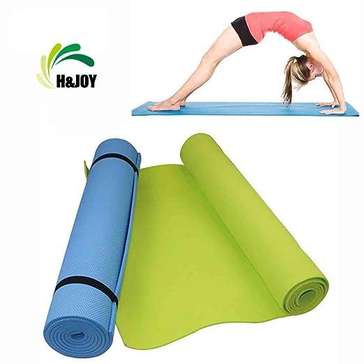 H&JOY esterillas de yoga, esterillas de ejercicio ...