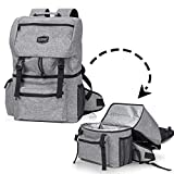 Kyndley Insulated Backpack Cooler. Lightweight Durable Cooler Bag for Hiking, Travel & Camping