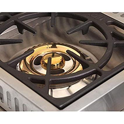 Amazon.com : Bull Outdoor Products 60088 Stainless Steel Double Side Burner, Liquid Propane : Bull Grill Burner : Garden & Outdoor
