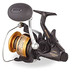 """""""The Baitrunner gives you the confidence of a legendary drivetrain and auto-return Baitrunner feature as well as better cast-ability; better line lay; less backlash wind knots or tangles; less friction on the line; larger; more comfortable gr..."""