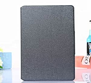 VIOLETSTARHard Shell Stand Case Cover with Built-in magnet for sleep / wake feature and Smart Feature for Apple iPad 6 (iPad Air 2) (gray)