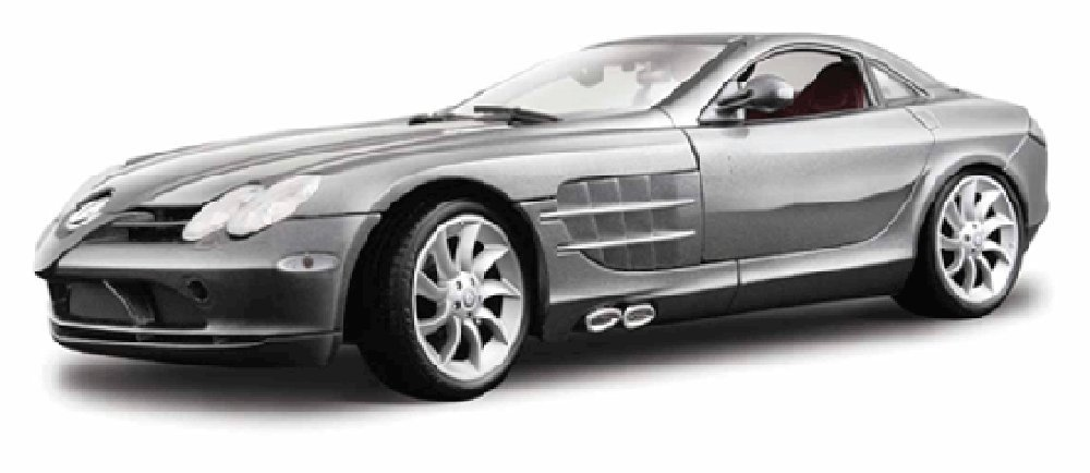 Amazon Com Mercedes Benz Slr Mclaren Silver Maisto Premiere