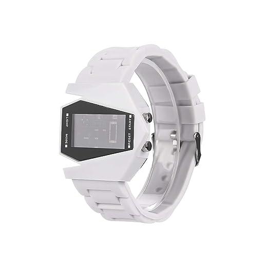 Reloj Inteligente Mujer,Reloj Electrónico con Función De Retroiluminación para Hombres y Mujeres. (