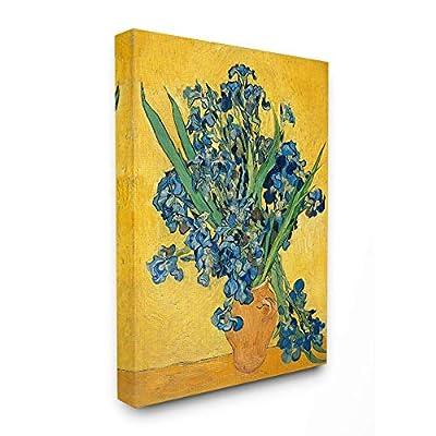 Stupell Industries Van Gogh Irises Post Impressionist Painting Canvas Wall Art, 36 x 48, Multi-Color